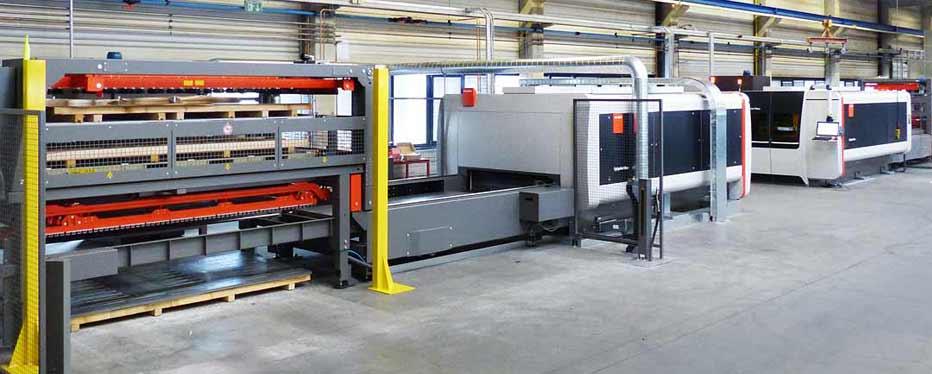 Laserschneiden BySprint Fiber 3015